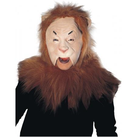 Cowardly Lion Mask image