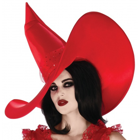 Red Witch Hat image