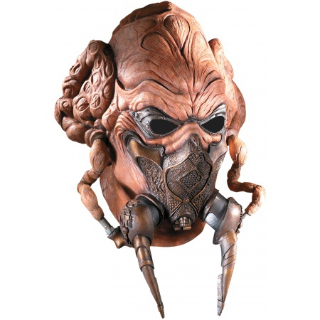 Deluxe Plo Koon Mask Costume Accessory Jedi Knight image