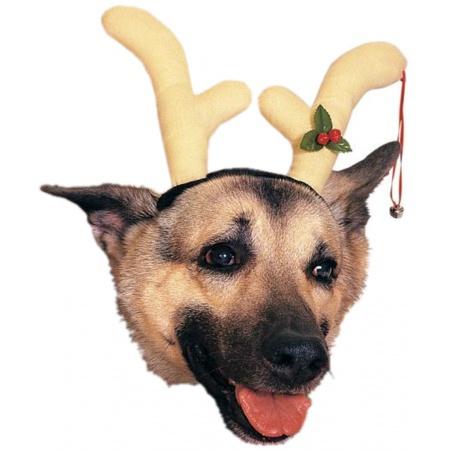 Dog Reindeer Antlers Headband image