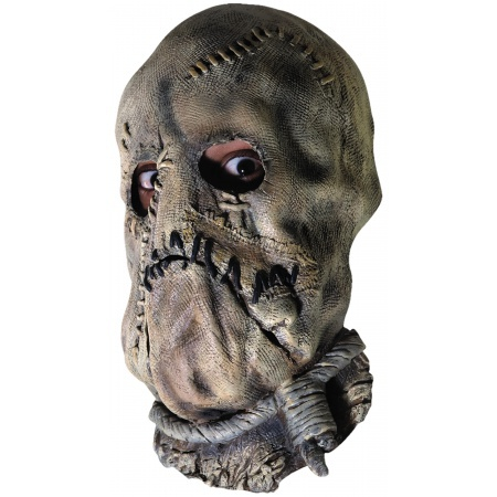 Scarecrow Mask Costume Accessory Scary Horror Villain image