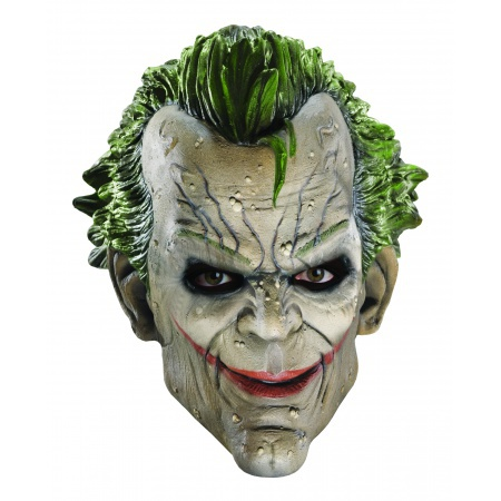The Joker 3/4 Mask Costume Accessory Video Game image