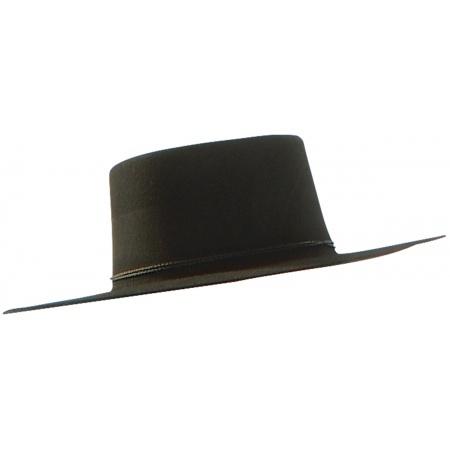 V For Vendetta Hat Costume Accessory Black image