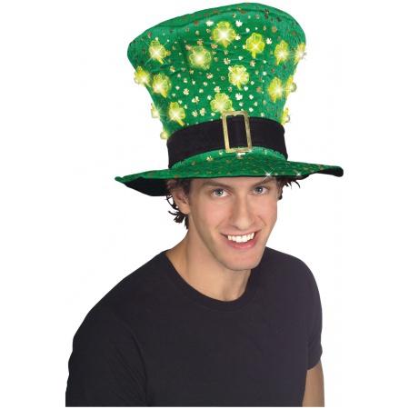 Funny St Patricks Day Leprechaun Party Hat image