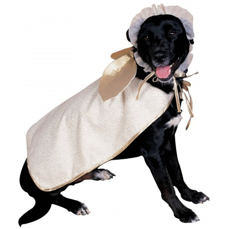 Angel Dog Pet Costume Holiday image