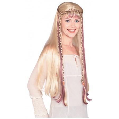 Medieval Maiden Wig image