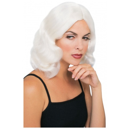 White Wig For Costume image