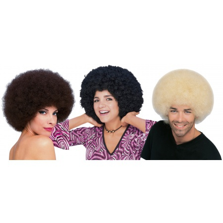 Afro Wig For Adults image