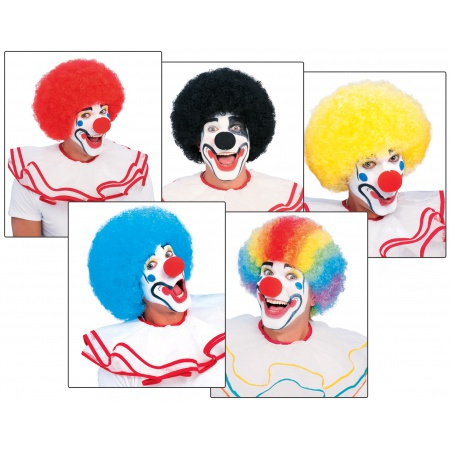 Clown Afro image