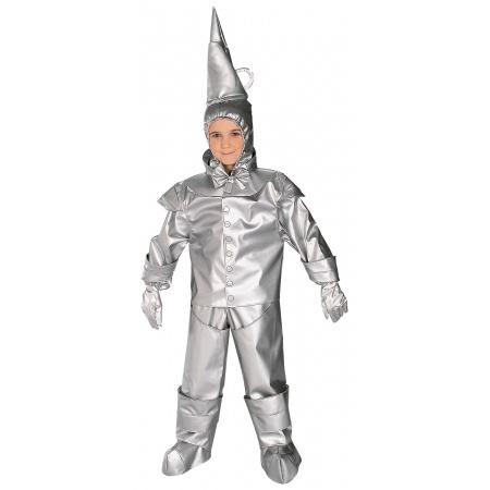 Toddler Tin Man Costume  image