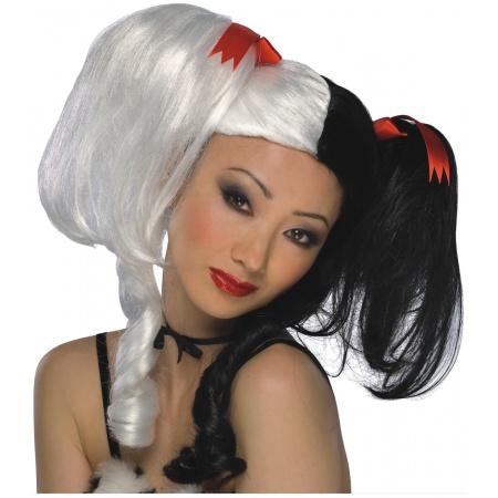 Black And White Lolita Wig image