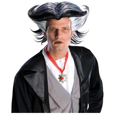 Funny Dracula Wig For Men image