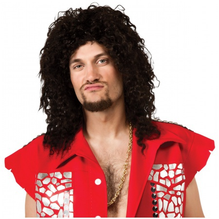 Curly Rocker Wig image