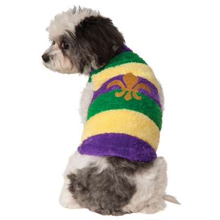 Mardi Gras Dog Costume  image
