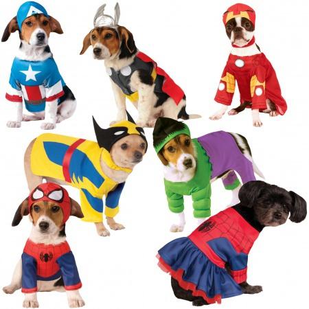 Superhero Dog Costumes image