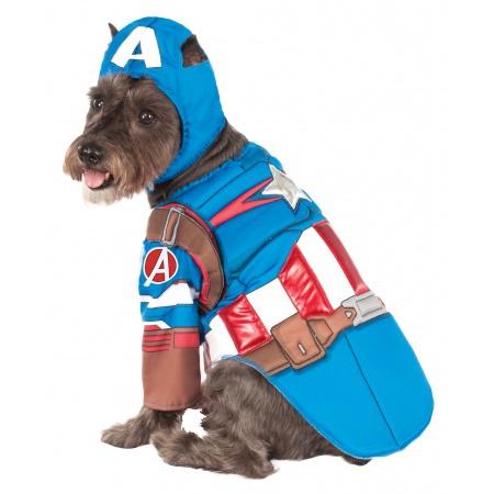 Captain America Deluxe Costume image