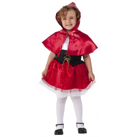 Child Little Red Riding Hood Costume image