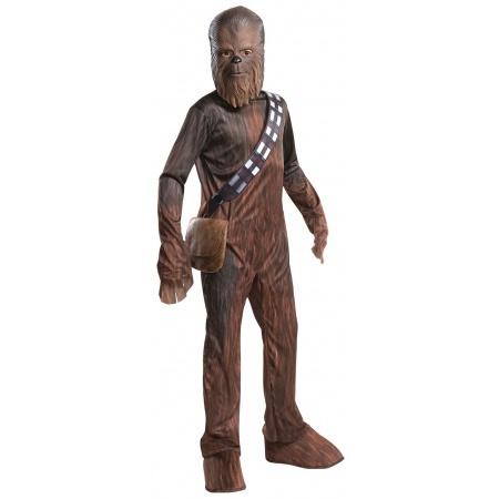 Chewbacca Costume Kids image