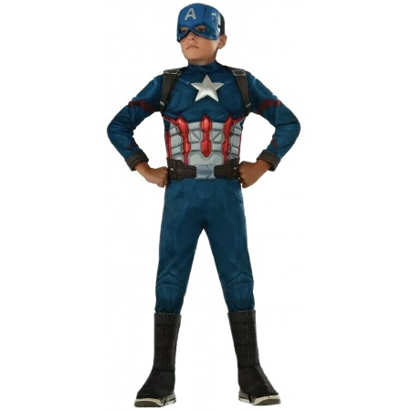 Captain America Kids Costume  image