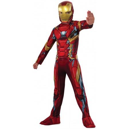 Iron Man Child Costume  image
