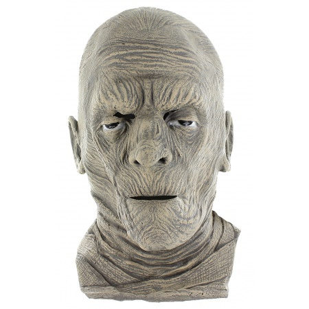 Mummy Mask Costume Accessory Scary Horror image