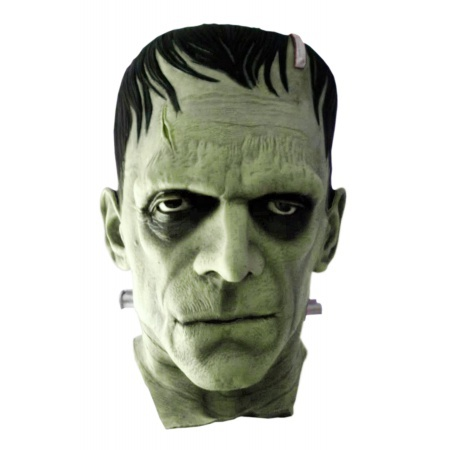 Frankenstein Mask Costume Accessory Classic Scary image