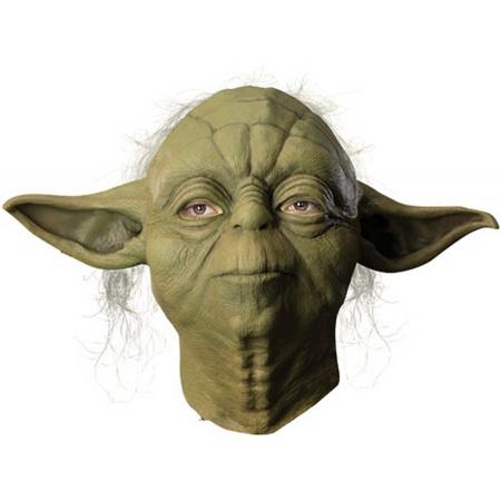 Deluxe Yoda Mask Costume Accessory Jedi Master image