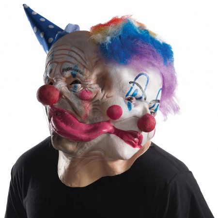 Scary Clown Halloween Mask image