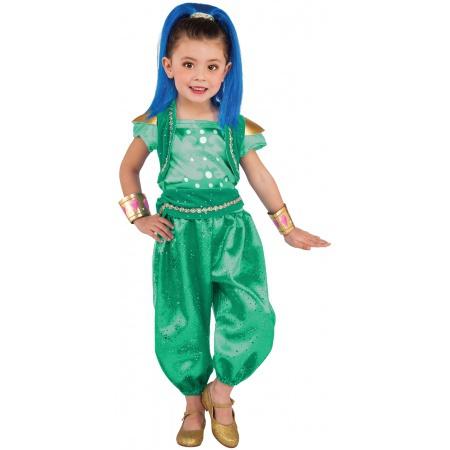 Girls Shine Costume image