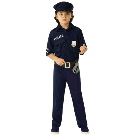 Boys Police Costume image