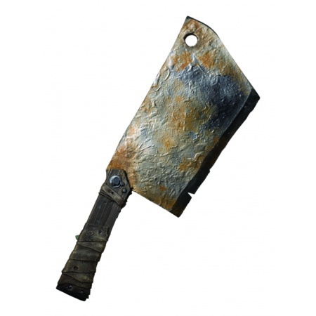 Tenderizer Weapon Costume Accessory Toy Meat Cleaver Scary Horror Prop image