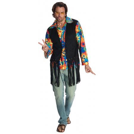 60s-70s Hippie Costume For Men image