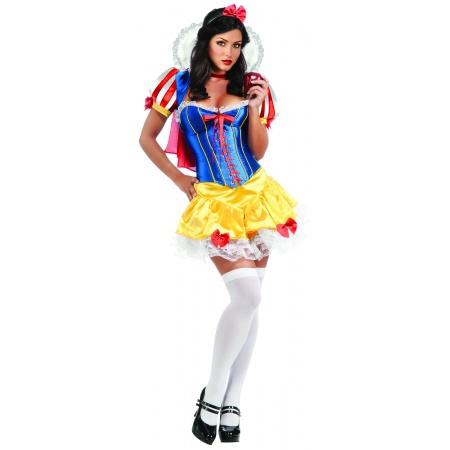 Sexy Snow White Corset Costume image