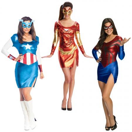 Superhero Costumes For Women image
