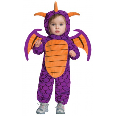 Baby Spyro The Dragon Costume image