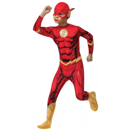 Kids Flash Costume image