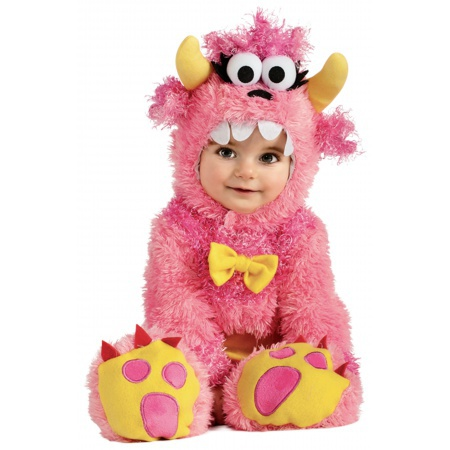 Pink Baby Monster Costume  image