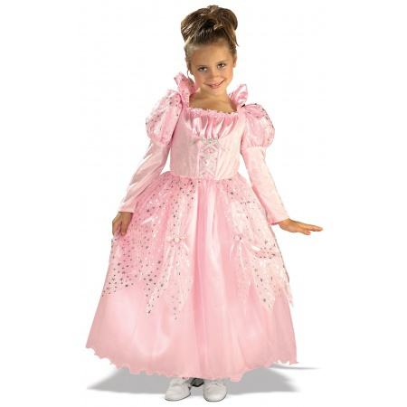 Pink Fairytale Princess Costume Dress-Up image