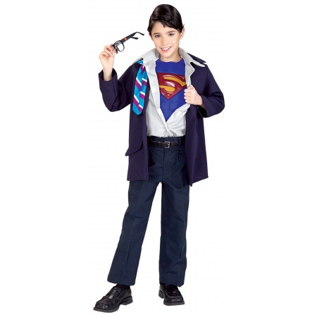 Clark Kent Costume For Kids image