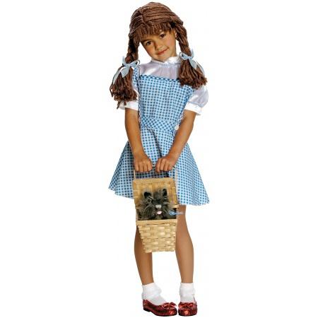 Dorothy Costume For Little Girls image