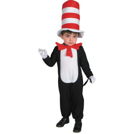 Infant Cat In The Hat Costume image
