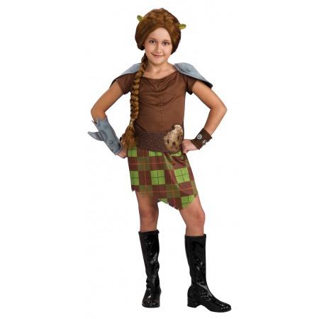 Princess Fiona Costume Child image