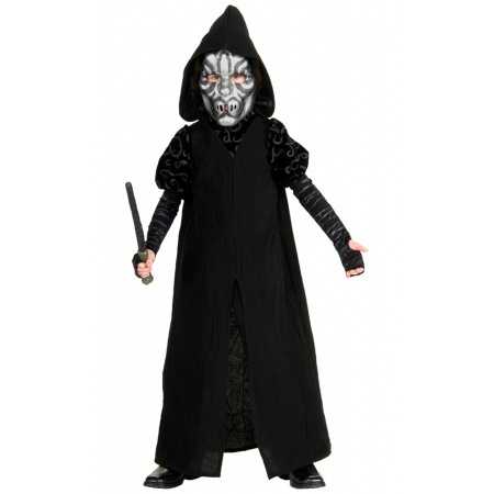 Harry Potter Death Eater Costume Child image