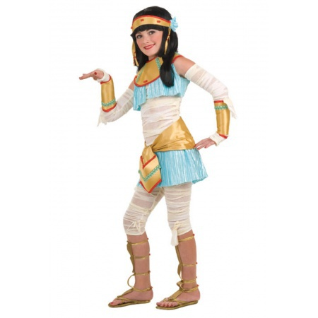 Cute Girl Mummy Costume image