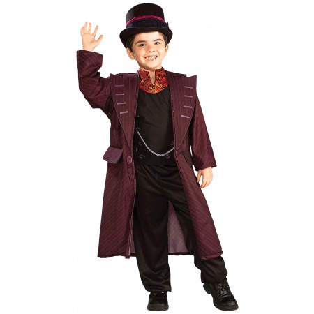 Willy Wonka Kids Costume image