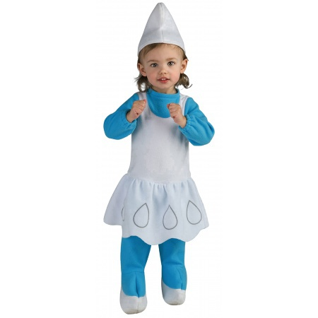 Baby Smurfette Costume image
