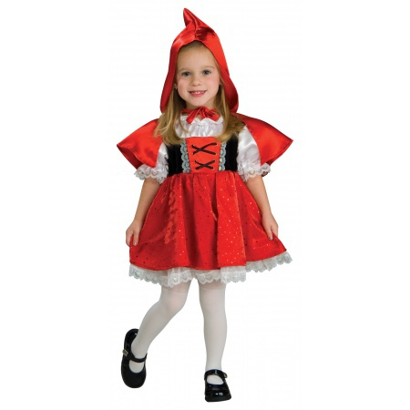 Little Red Riding Hood Costume Toddler image