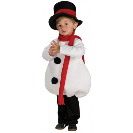 Toddler Snowman Costume  image