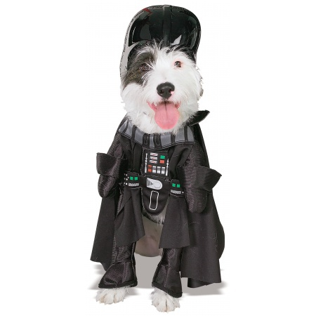 Darth Vader Dog Costume image