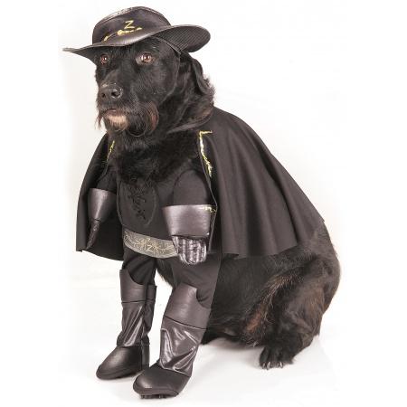 Zorro Dog Costume image